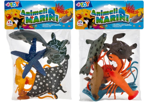 ANIMALI MARINI 6PZ 2ASS.