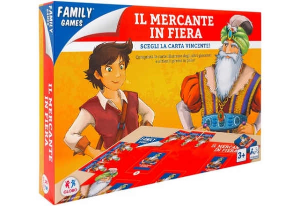 MERCANTE IN FIERA C/80 CARTE
