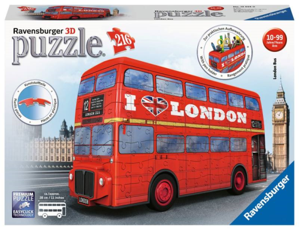 RAVENSBURGER 3D LONDON BUS