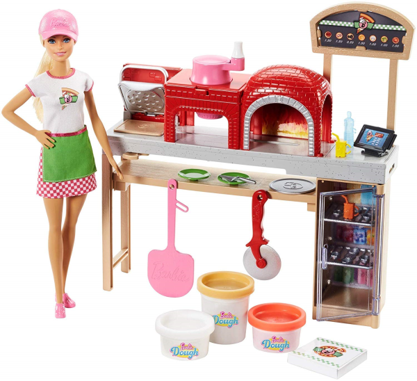 BARBIE PIZZA CHEF PLAYSET