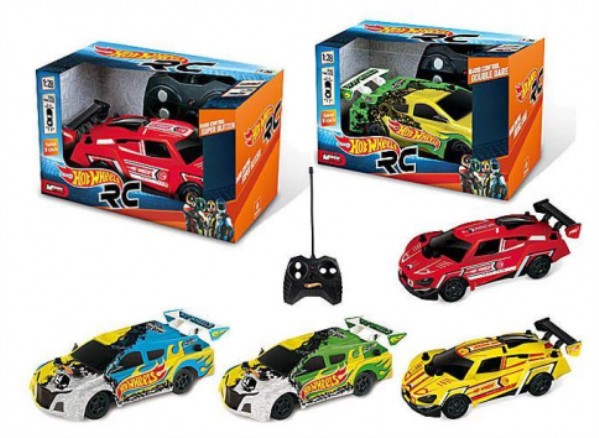 1:28 R/C AUTO HOT WEELS